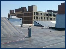 Commercial flat roof solutions in Wilmington, DE.